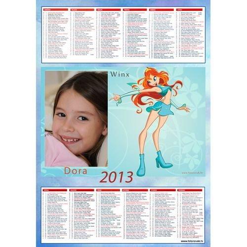 Dječji zidni katolički kalendar - tisak