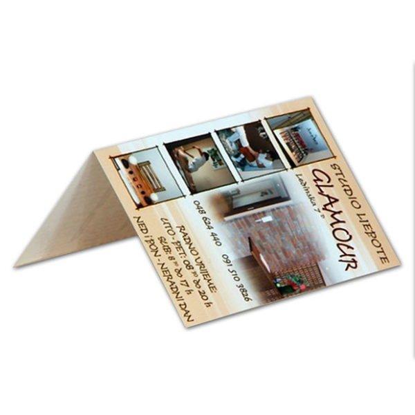 Pocket folding calendar 9x13 cm