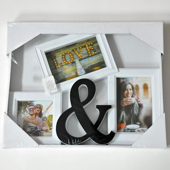 Okvir za fotografije - 3u1 LOVE
