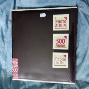photo album 500 photo black