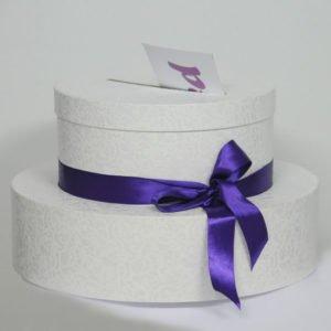 KUTIJA za poklone kuverte oblik torte