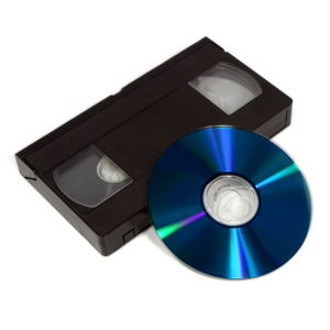 Switching tapes to DVD