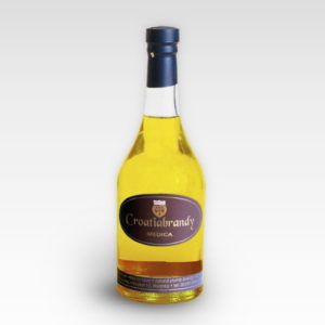 Croatiabrandy LEVAK Medica - brandy from wine distillates flavored with honey