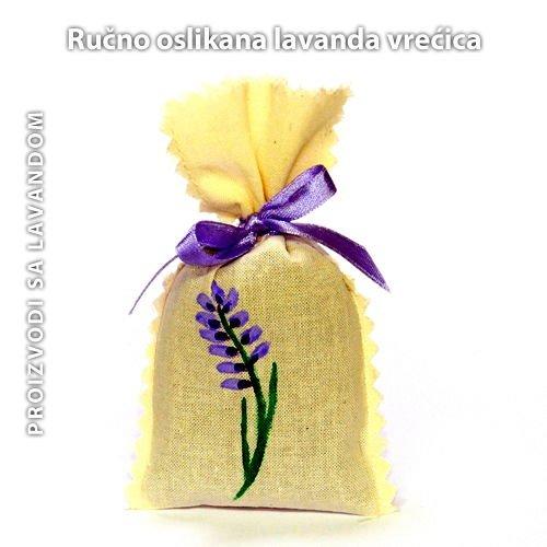 Lavanda mirisna vrećica- cvijet