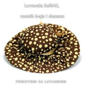 Lavanda mirisni šeširić- točkice