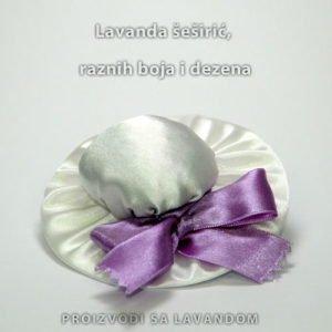 Lavanda mirisni šeširić- bijeli