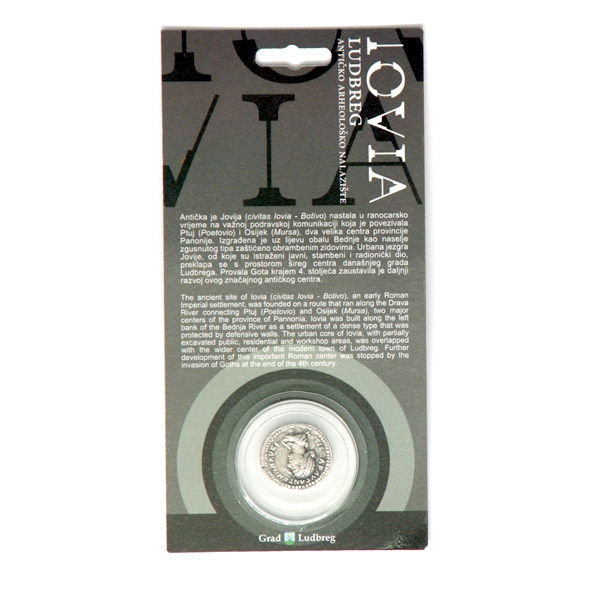 Ludbreg coins Annia Aurelia Galeria Lucilla( IOVIA LUDBREG)