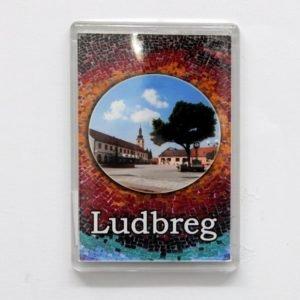 Magnet - center of the city - Ludbreg(frame)