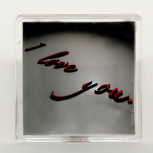 """Valentine`s day magnet - """"I love you"""" small"""