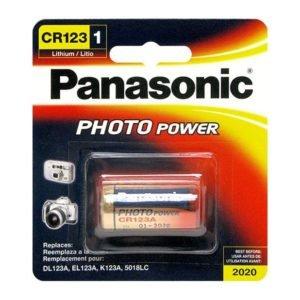 Battery PANASONIC CR123-3V