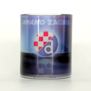 Glass cup of Football club Dinamo Zagreb