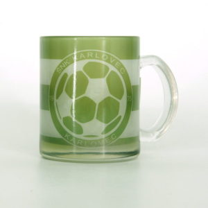 Glass cup of Football club FC Karlovec