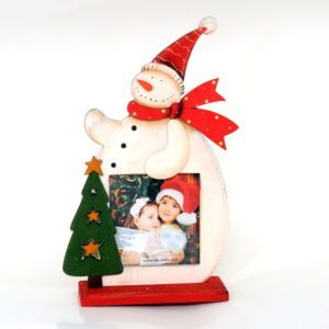 Christmas decoration with your photo - Snowman