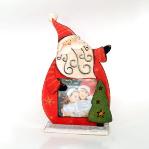 Christmas decoration with your photo - Santa Claus