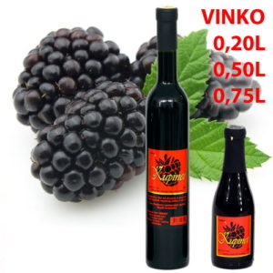 Kupinet - desertno voćno vino