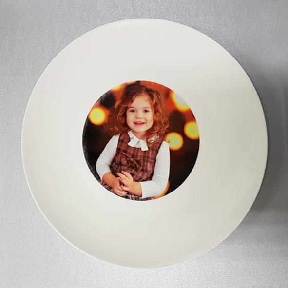 Keramički tanjur s Vašom fotografijom