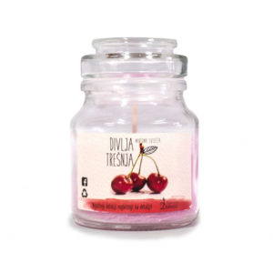 Scented candle (wild cherry)