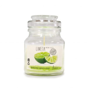 Scented candle (lime)