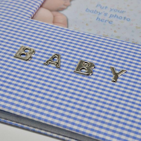 Dječji foto album Innova Baby Boy plavi za umetanje fotografija