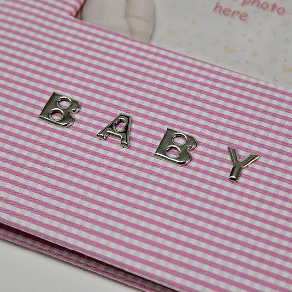 Dječji foto album Innova Baby Girl rozi za umetanje fotografija