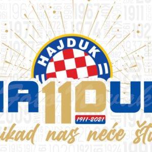 Šalica Hajdu Split 110. rođendan
